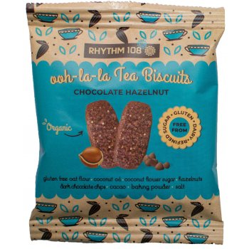 Biscuits Tea Biscuits Chocolat-Noisette Sans Gluten Bio, 24g