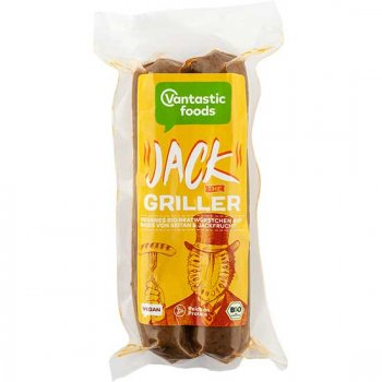 Saucisse Jack The Griller (Fruit de Jacques) Bio, 150g