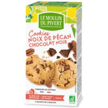 Cookies Pecan with Chocolate Bits Organic, 175g