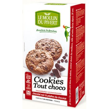 Cookies Tout Choco with Chocolate Bits Organic, 175g