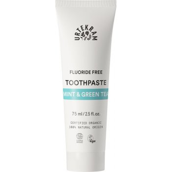 Toothpaste Mint & Green Tea No Fluoride Organic, 75ml