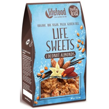 Life Sweets Coconut Almonds Raw Organic, 90g