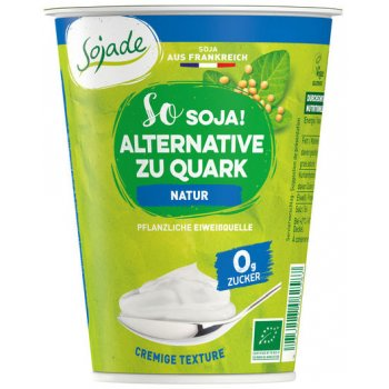 Soya Alternative zu Quark Natur Ungesüsst Bio, 400g