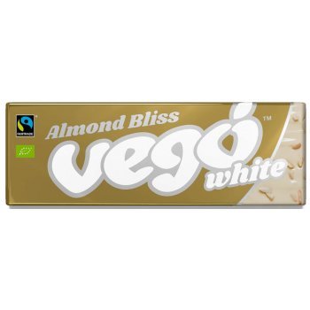 VEGO WHITE Almond Bliss Bio Fairtrade, 50g