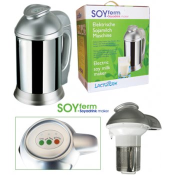 SoyFerm Electric Soymilk Maker - Make your plant based milk
