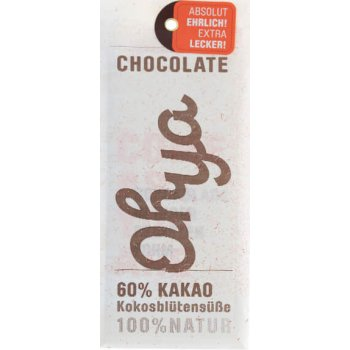 Bar Chocqlate Ohya Chocolate 60% Cacao Organic, 70g