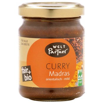 Curry Paste Madras Fair Organic, 125g