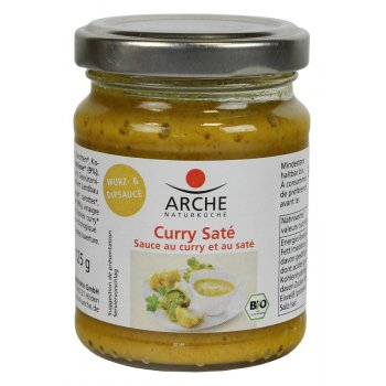 Curry-Saté Sauce Bio, 125g