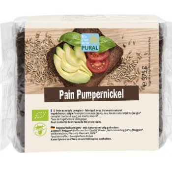 Pumpernickel  Whole Grain Organic, 500g