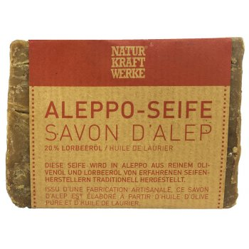 Savon d'Aleppo Traditionnel 100% biodégradable, 200g