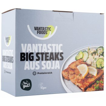 Soy Steaks BIG, 500g