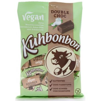 Fudge Kuhbonbon DOUBLE CHOC Vegan Caramel Sweets, 165g