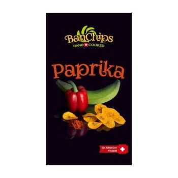 Chips SwissChips BanChips Paprika, 90g