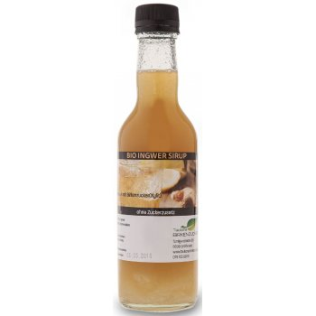 Xylit Sirup Organic Ginger Sweetened with Birch Sugar, 500ml