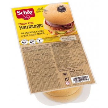 Pain Hamburger Sans Gluten, 4x75g