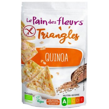 Triangles Puffed Quinoa Organic, 50g