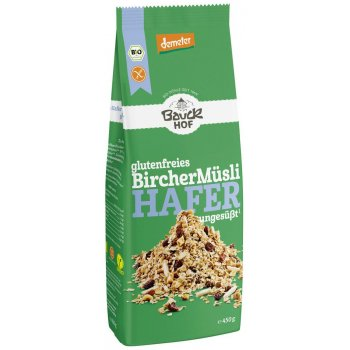 Cereal BircherMüesli Gluten Free No Added Sugar Organic, 450g