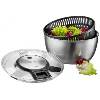 Salad Spinner Speedwing Stainless Steel Ø 27cm