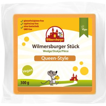 Wilmersburger Wedge Queen-Style Gluten Free , 300g