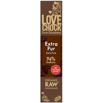 Bar Lovechock Extra Pure 94% RAW Organic, 40g