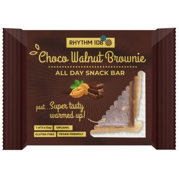 Biscuits Rhythm 108 Choco-Walnut Brownie Bio, 42g