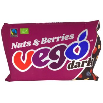 VEGO Dark Nuts & Berries Organic, 85g