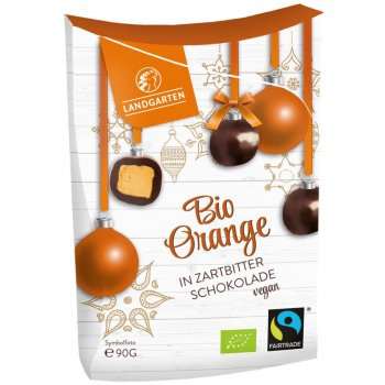 .★ Landgarten Orange Dark Chocolate Organic, 90g