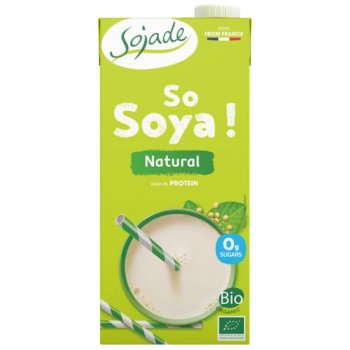 Sojade Soja Drink Natur without added sugar Organic, 1l