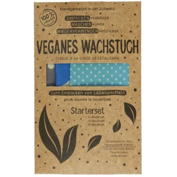 Vegan Wax Cloth (Oil Cloth) Starter Set