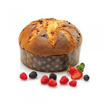 ..★ Vegan Panettone traditional with wild berries, 500g