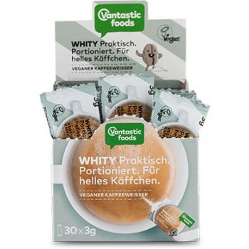 Whity Vegan Coffee Creamer Single-Portion Packets, 30x3g