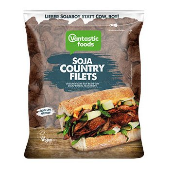 Vegan Soy Country Filets, 150g