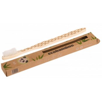 Bambou Brosse à dents Ecobamboo SOUPLE Blanc Bio