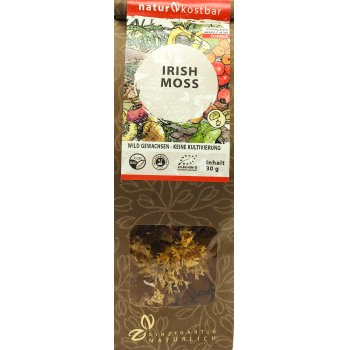 Seaweed Irish Moss Raw Organic, 30g