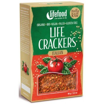 Cracker Italian Raw Organic, 90g