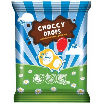 Decoration : Choccy Drops Gluten Free Organic, 25g