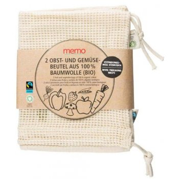 Bags for fruits and veggies #noplastic Organic, 2pcs