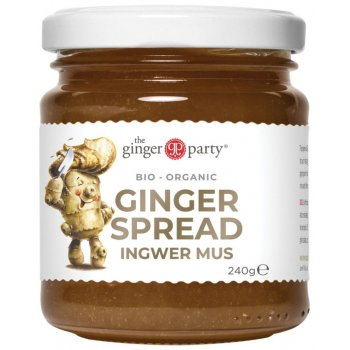 Ginger Party Purée de gingembre Verre Bio, 240g