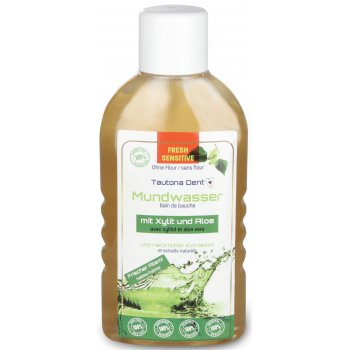 Mouthwash Tautona-Dent Fresh Sensitiv Xylitol and Aloe, 460ml