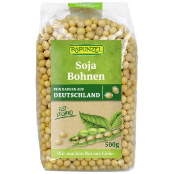 Soybeans Unhulled Organic, 500g