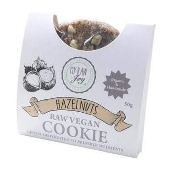 Cookie Raw Haselnuss Bio, 50g