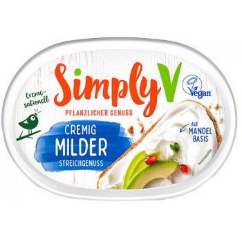 Simply V Alternative au fromage à tartiner NATUR, 150g