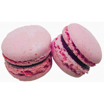 .★ Vegan Macarons Rasberry Box, 5 pcs , 95g