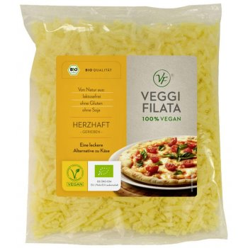 Veggi Filata Hearty Pizza Shreds Organic, 200g