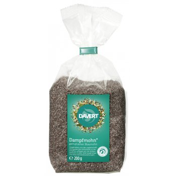 Poppy Seeds Steamed & Grounded Organic, 200g