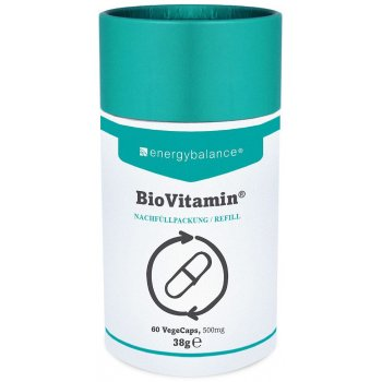 BioVitamin® Refill multivitamin 500mg, 60 VegeCaps