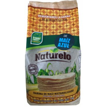 Flour Blue Corn Flour Naturelo for Arepa,  Tortillas, 1kg
