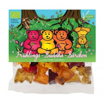 Jelly Ourson mind sweets Happy Printemps Buddha Bear Bio, 75g