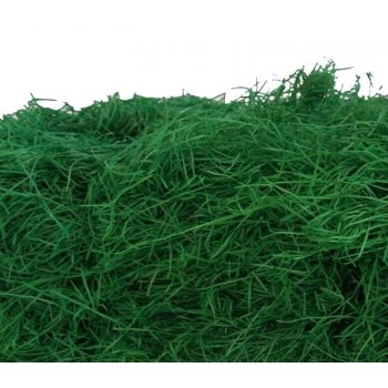 Easter grass green for Easter basket, 1 piece