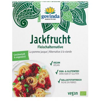 Jackfruit Strips unseasoned Organic, 200g